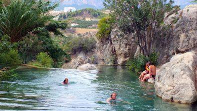 Algar Waterfalls