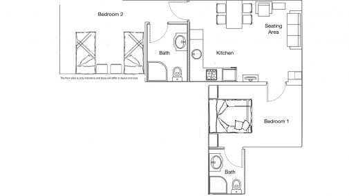 Duo Apartment Floor Plan